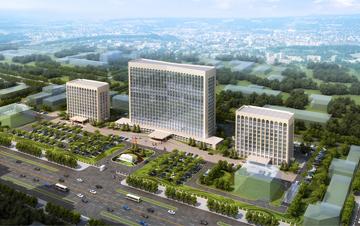 景观  山西省委大院交通规划及景观(竞标)