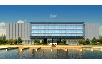 行政中心  常州洛阳镇行政中心及文化中心