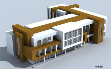 办公楼  太湖湾广电中心办公楼建筑设计