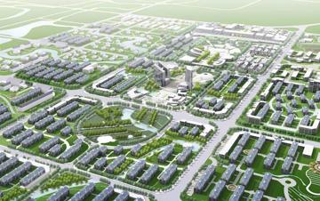 城市  常州武进区奔牛镇中心区城市设计