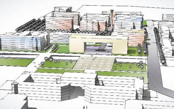新疆石河子大学校园规划(竞标)