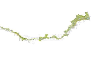 山东泰安市 环山路景观带城市设计