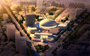 内蒙古 呼和浩特市博物馆地块周边城市设计
