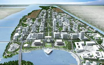 山东潍坊滨海经济开发区中央商务区城市设计(国际竞标)