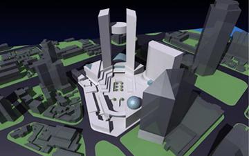 天津小白楼商业综合体概念设计