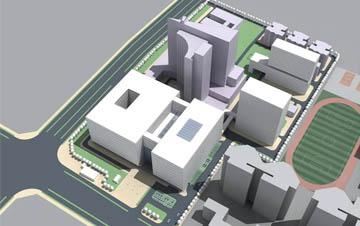 深圳南山医院改扩建工程方案(国际竞标)
