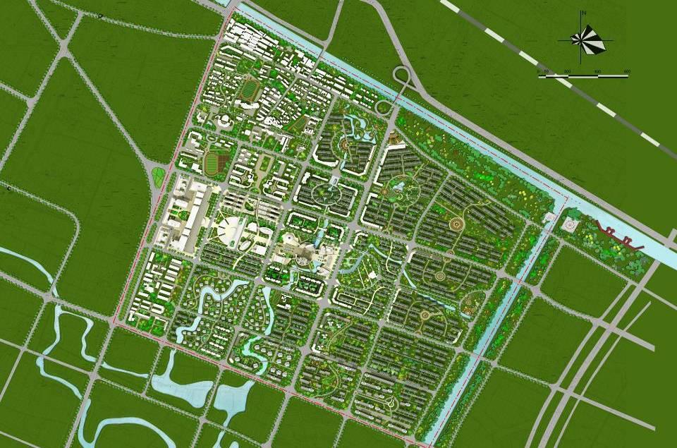 常州武进区奔牛镇中心区城市设计