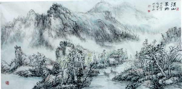 中国人为什么喜欢山水画?