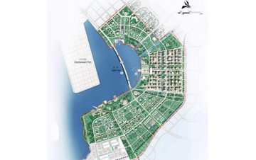 深圳前海地区概念规划设计